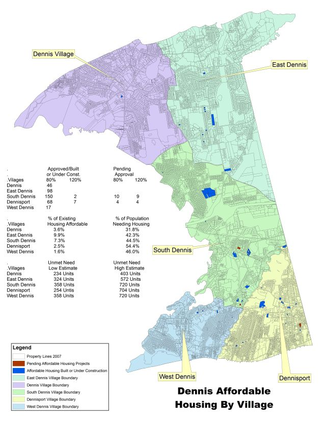 Affordable Housing In Dennis, MA