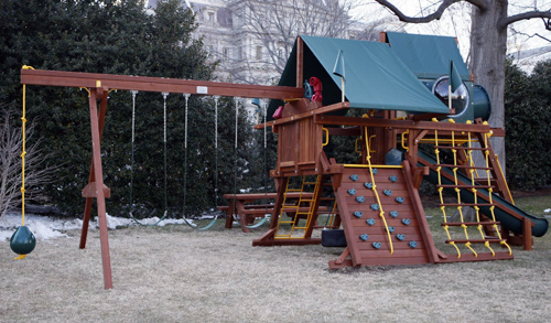 Download swing set plans pdf plans diy building wooden for Wooden jungle gym plans