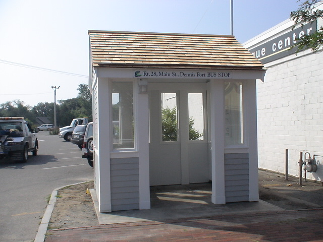 Ccrta Bus Shelter Town Of Dennis Ma Planning Weblog
